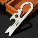 Mini Multi Tools Kit Nail Puller Wrench Opener Keychain