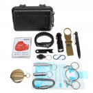 17 in 1 SOS Emergency Camping Hiking Hunting Outdoor Survival Equipment Tools Kit Gear