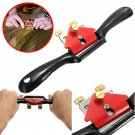 9 Inch Adjustable Woodcraft Metal Blade Spoke Shave Plane Wood Working Hand Tool