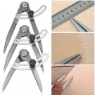 Drawing Measure Gauge Distance Compass Divider Leather Craft Design Layout Tool