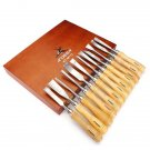 12 Pcs Carving Chisels Kit Wood Working Wood Carving Chisel Set