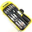 14 Pcs Multifunction Hand Graver Chisel Hobby Craft Wood Carving Tool Set