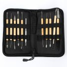 11 Pcs Clay Sculpting Wax Carving Pottery Tools Shapers Polymer Modeling Set