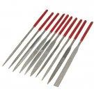 10 Pcs Ceramic Emery Rasp Diamond Needle Files Grinding Cutting Tool