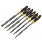 6 Pcs Mini Files Metal Filing Rasp Needle File Wood Tools Hand Woodworking Tool Set