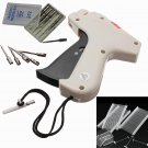 Clothes Garment Price Label Tagging Tag Gun Machine with 1000 Barbs and 5 Steel Needles