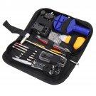 147 Pcs Watch Repair Tools Kit Case Opener Link Spring Bar Remover Watchmaker Tool