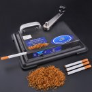 Metal Manual Cigarette Tobacco Roller Roll Rolling Machine Box Case Cigar Maker