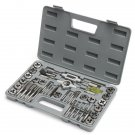Metric Tap And Die Metric Tapping Threading Chasing Tap and Die Set, Storage Case