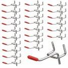 25 Pcs 50 mm Length Pegboard Hooks Board Slat Wall Retail Display Shop Peg Home Hook