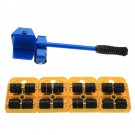 Heavy Furniture Bracket Moving System Lifter Tool with 4 Slide Glider Pad Sofa Easy Move