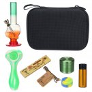 8 IN 1 Smoking Box Set Rolling Set Herb Grinder Hookah Pipe for Smoker, Multifunctional