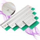 Aluminium Screen Printing Squeegee Blade Ink Scraper Blade Tool 10/20/30/40cm