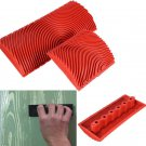 2 Pcs Large, Small Wood Graining Tool Wall Floor Painting Effects Wood Grain Rubber, Decoration