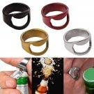 Stainless Steel Finger Ring Ring Shape Beer Bottle Opener for Beer Bar Tool