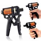 10-50 KG Carbon Steel Adjustable Hand Grip Strengthener Trainer Hand Power Exerciser Gripper