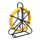 4.5mm x 70m Fish Tape Fiberglass Wire Cable Running Rod Duct Rodder Puller