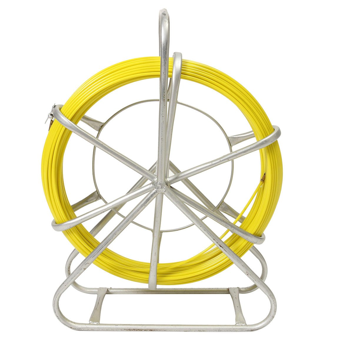 Fish Wire Tape Fiberglass Duct Rodder Fish Tape Continuous Fiberglass Cable Puller 4.5mm x 70 mst
