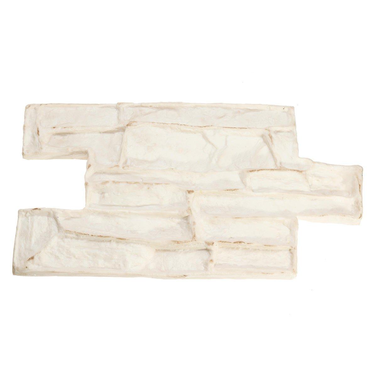 Stone Decorative Concrete Mold Cement Reusable Brick Mold Imprint Texture Stamp Mat