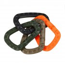 Carabiner Small Keychain Clip Spring Link D Shape Climbing Hook Key Chain