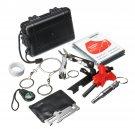 SOS Emergency Camping Survival Tools Kit Survival Gear Kits Emergency SOS Survive Tool