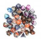 35 Pcs Polyhedral Dices Set D20 D12 D10 D8 D6 D4 Dices Gadget 5 Colors