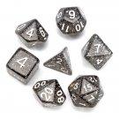 7 Pcs TRPG Polyhedral Dice RPG Dice Set Gadget With Bag