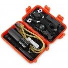EDC Compass Flashlight Whistle Self-defense Emergency Equipment Kit, Multifunctional