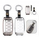 Remote Key Case Shell Holder Aluminum Alloy For Car Key with Keychain