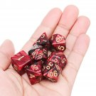 7 Pcs Dices Polyhedral Dice Set Mulitisided Dice Role Playing Dice With Cup