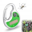Solar Charging Portable Ultrasonic Compass Mosquito Repellent Electronic Mosquito Dispeller
