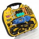 Drillpro AC 220V Electric Rotary Drill Grinder Engraver Polisher DIY Tool Set