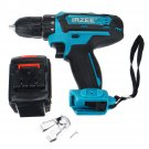 26V Electric Cordless Drill Power Drills 25+3 Stage Lithium Battery Drilling Tools With 1/2 Battery