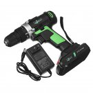 21V Cordless Electric Screwdrivers Driver Power Lithium Rechargeable Screwdriver
