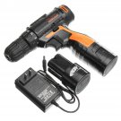 16.8V 25Nm Electric Screwdriver Cordless Rechargeable, Screwdriver With 1 Charger 2 Battery
