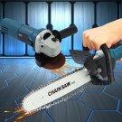 11000r/min 220V 1000W Electric Angle Grinder Chainsaw Bracket DIY Cutting Tools - 01