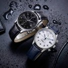 Business 24hour Dual Time Date Display Leather Strap Men Quartz Watch from Xiaomi Youpin