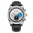 OCHSTIN 6046G Men Quartz Watch Luxury Leather Strap Business Watch