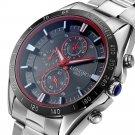 Full Steel Men Quartz Watches Business Style Analog Luminous Hand Watch