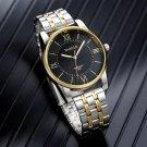 YAZOLE 348 Full Steel Men Fashion Business Style Liminous Display Quartz Watch