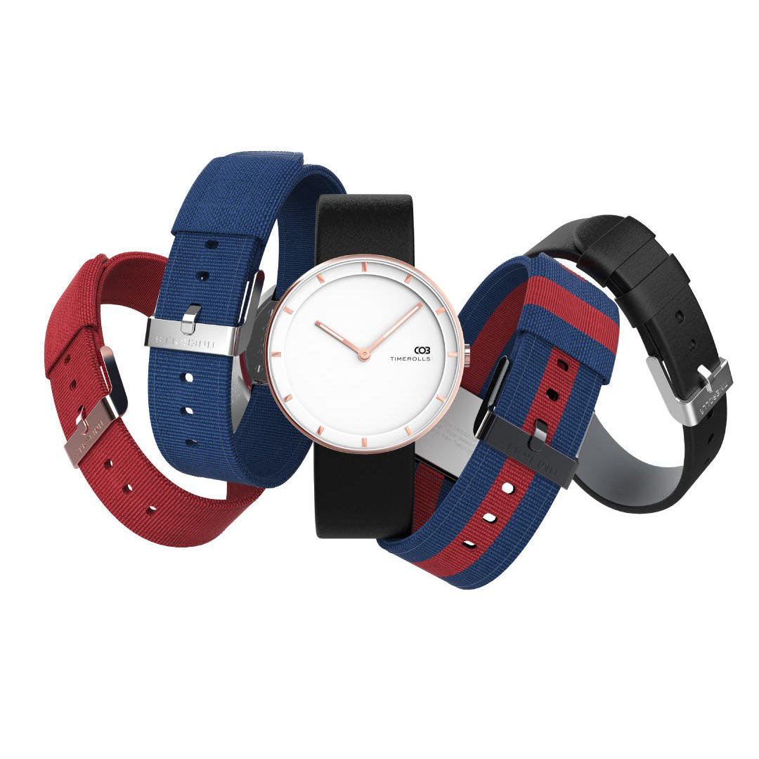 Ultra-thin Luminous Display 30m Waterproof Leather Strap Quartz Watch, Xiaomi YouPin