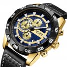 MEGIR 2096 Luxury Sports Style Chronograph Waterproof Multifunction Quartz Watch Men