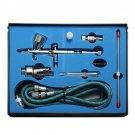 9cc Dual Action 3 Airbrush Air Compressor Kit Craft Cake Paint Art Spray Gun