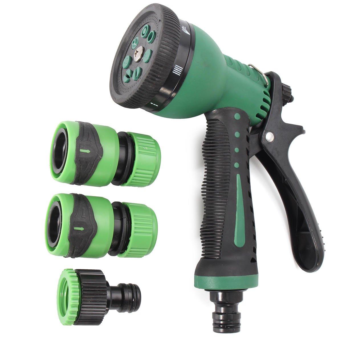 7 Pattern Hose Nozzle Sprayer Water Hose, Water Gun Watering Cleaning Tool