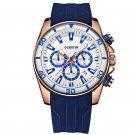 Bussiness Style Male Wristwatch Auto Date Stopwatch Military Quartz Watch