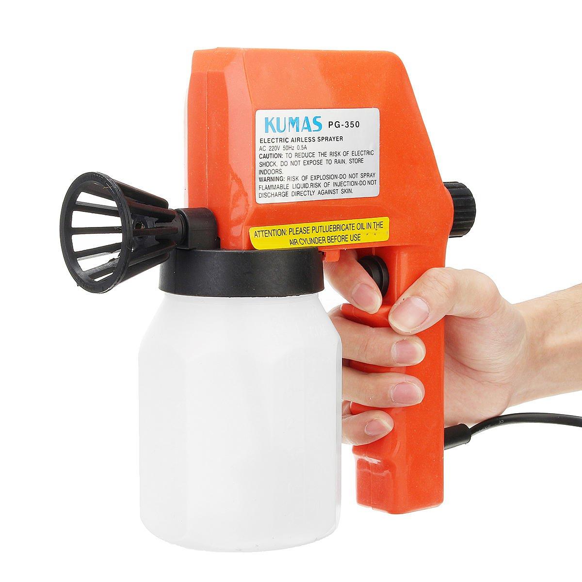 220V 75W 50Hz 600ml Electric Airless Spray DIY Paint Spray