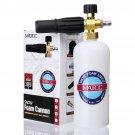Adjustable Snow Foam Lance Washer Soap 1L Bottle High Pressure Washer Gun Foam Cannon