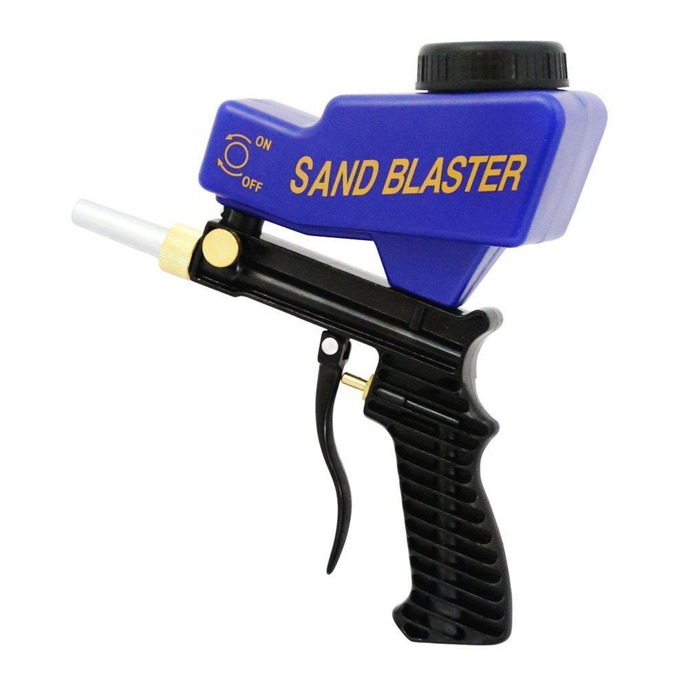 Gravity Feed Sandblasting Tools, Sand Spray Gun For Rust Remove Sandblaster Air Tools