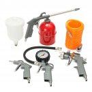 5-piece Set Of Pneumatic Sprayer Paint Tool Spraying Spray Gun Set