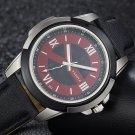 YAZOLE 383 Men Watch Leather Strap Luminous Casual Outdoor Male Quartz Wrist Watch